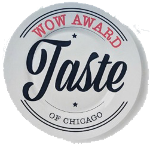 Taste Of Chicago WOW Award Winner